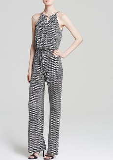 Laundry by Shelli Segal Jumpsuit - Chain Neck Printed
