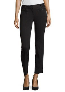 Laundry by Shelli Segal Knit Cropped-Ankle Pants, Black