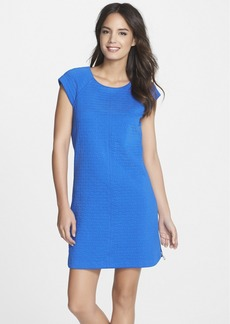 Laundry by Shelli Segal Knit Jacquard Shift Dress