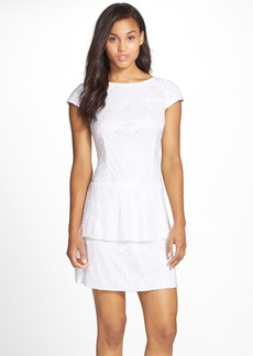 Laundry by Shelli Segal Lace Fit & Flare Dress