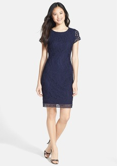 Laundry by Shelli Segal Lace Sheath Dress (Petite)
