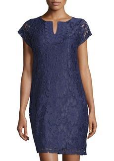 Laundry by Shelli Segal Lace T-Body Sheath Dress