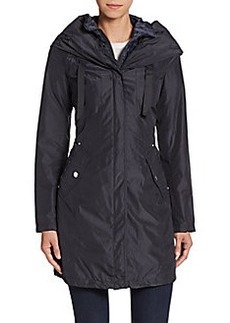 Laundry by Shelli Segal Lightweight Hooded Jacket