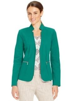 Laundry by Shelli Segal Long-Sleeve Zipper Jacket
