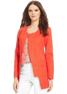 Laundry by Shelli Segal Long Sleeve Zipper Jacket