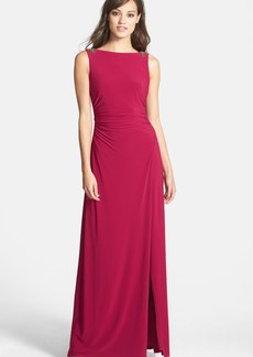 Laundry by Shelli Segal Matte Jersey Gown