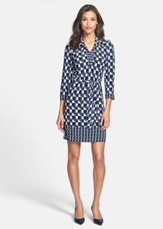 Laundry by Shelli Segal Matte Jersey Shirtdress (Petite)