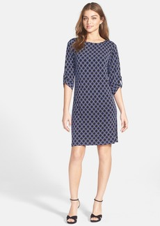 Laundry by Shelli Segal Medallion Print Jersey Dress (Petite)