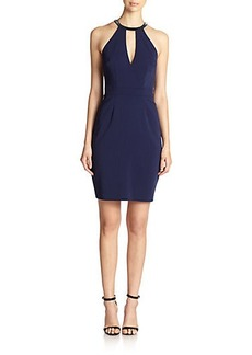 Laundry by Shelli Segal Montreal Keyhole Halter Dress