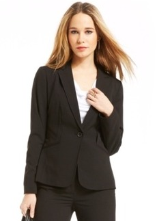 Laundry by Shelli Segal One-Button Inverted-Dart Jacket