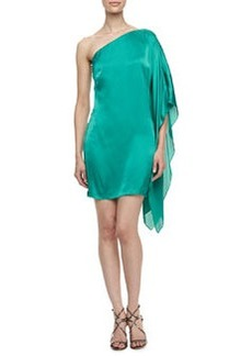 Laundry by Shelli Segal One-Shoulder Asymmetric Dress