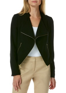 LAUNDRY BY SHELLI SEGAL Open-Front Moto Jacket
