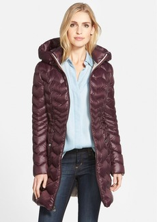 Laundry by Shelli Segal Packable Hooded Down Coat