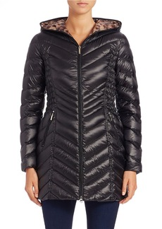 LAUNDRY BY SHELLI SEGAL Packable Puffer Coat