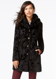 Laundry by Shelli Segal Reversible Faux-Fur Quilted Coat