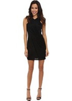 Laundry by Shelli Segal Pique Shine Cocktail Dress