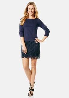 Laundry by Shelli Segal Ponte Shift Dress