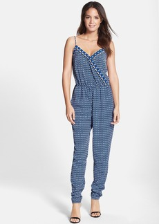Laundry by Shelli Segal Print Crêpe de Chine Jumpsuit
