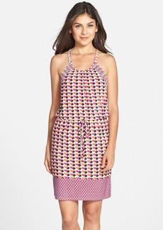 Laundry by Shelli Segal Print Jersey Blouson Dress