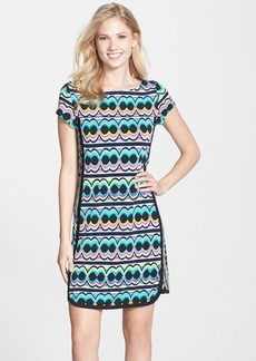 Laundry by Shelli Segal Print Jersey Shift Dress