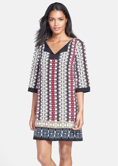 Laundry by Shelli Segal Print Jersey Shift Dress (Regular & Petite)