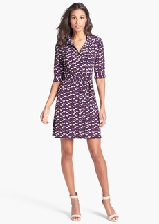 Laundry by Shelli Segal Print Jersey Shirtdress (Petite)