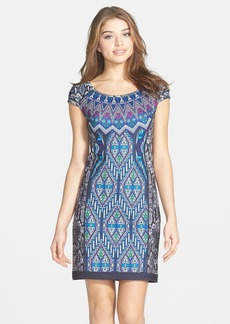 Laundry by Shelli Segal Print Neoprene Dress