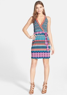 Laundry by Shelli Segal Print T-Back Jersey Dress