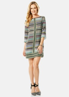Laundry by Shelli Segal Print Twill A-Line Dress (Regular & Petite)