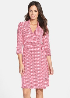 Laundry by Shelli Segal Print Wrap Shirtdress