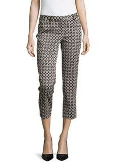 Laundry by Shelli Segal Printed Capri Pants, Black Multi