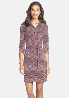 Laundry by Shelli Segal Printed Jersey Shirtdress