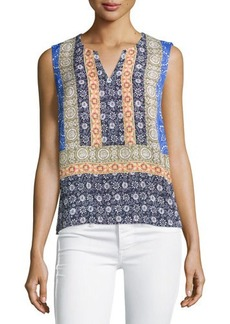 Laundry by Shelli Segal Printed Sleeveless Tunic