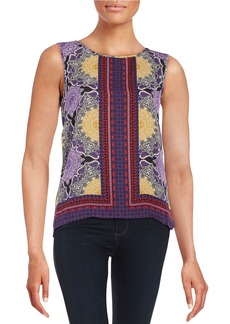 LAUNDRY BY SHELLI SEGAL Printed Tank