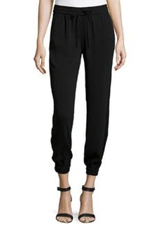 Laundry by Shelli Segal Pull-On Pants with Tuxedo Stripe