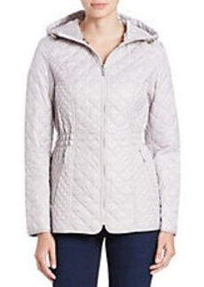 LAUNDRY BY SHELLI SEGAL Quilted Zip-Front Jacket