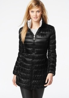 Laundry by Shelli Segal Reversible Down Packable Puffer Coat