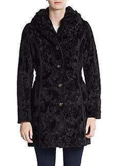 Laundry by Shelli Segal Reversible Faux Fur Coat