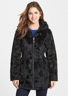 Laundry by Shelli Segal Reversible Faux Persian Lamb Fur Coat