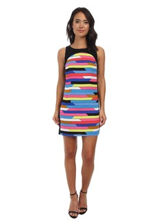 Laundry by Shelli Segal Roy and Andy Crepe Shift Dress