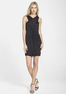 Laundry by Shelli Segal Ruched Halter Sheath Dress