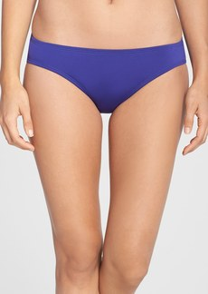Laundry by Shelli Segal Ruched Hipster Bikini Bottoms