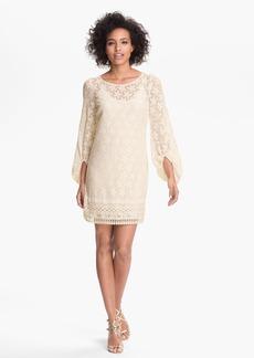 Laundry by Shelli Segal 'Sand Dollar' Lace Shift Dress (Petite)