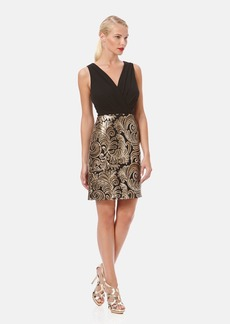 Laundry by Shelli Segal Sequin Embellished Sheath Dress