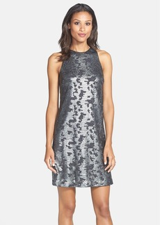 Laundry by Shelli Segal Sequin Racerback Shift Dress (Nordstrom Exclusive)