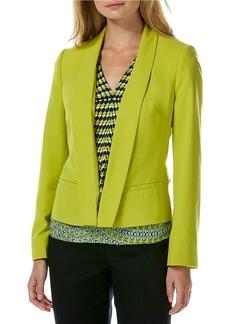 LAUNDRY BY SHELLI SEGAL Shawl Collar Jacket