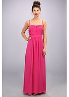Laundry by Shelli Segal Shirred Gown