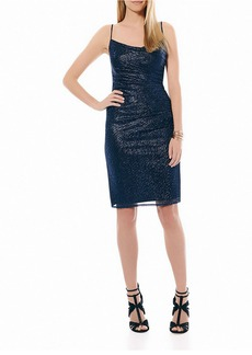 LAUNDRY BY SHELLI SEGAL Side Shirred Dress