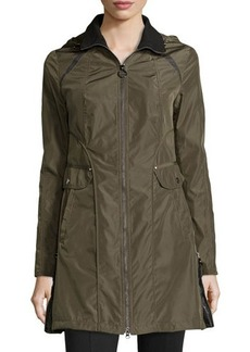 Laundry by Shelli Segal Side Zip Trenchcoat