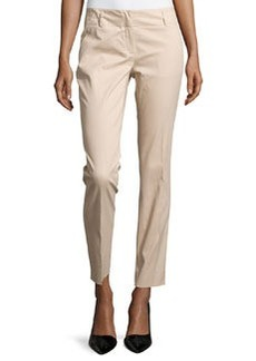 Laundry by Shelli Segal Skinny-Leg Trousers, Oxford Tan